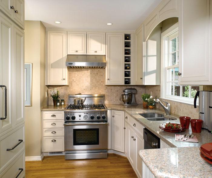 Narrow L Shaped Kitchen Design