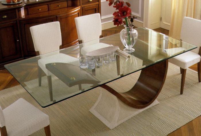 Mesas de Jantar em Vidro  Fotos