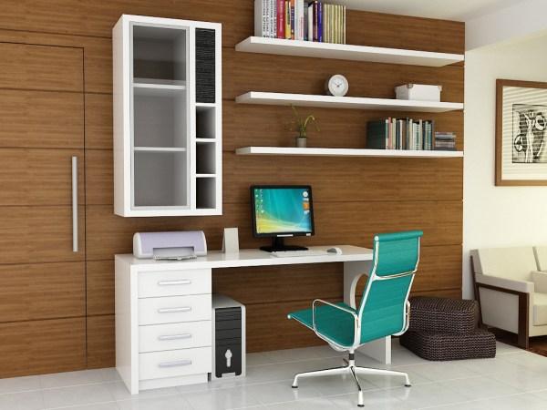 simple home office design ideas Decorar Home Office