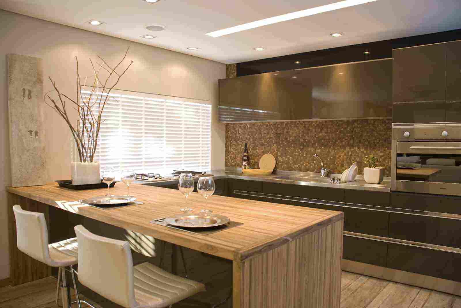 Apartamentos de luxo trabalho forte na decorao