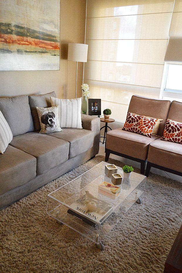 sofa cinza e almofadas coloridas quality reclining brands decorar com