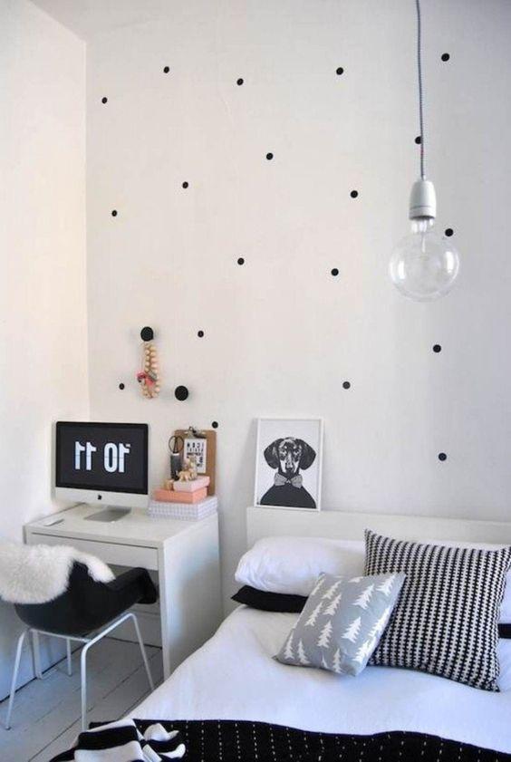 Decorao barata para quarto