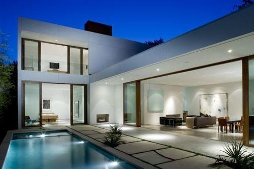 rea de Lazer Integrada Projetos Sensacionais  Decorao de Casa