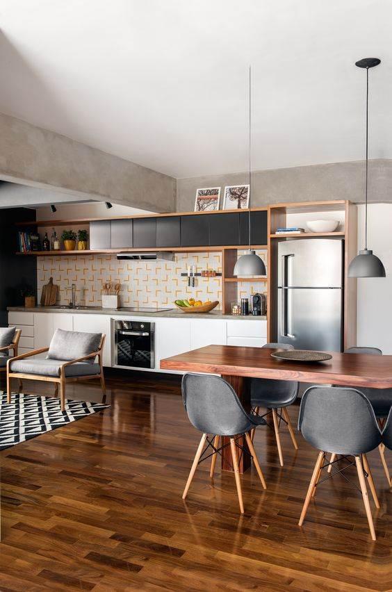 50 Cozinhas com Copa Decoraes Incrveis  Decorao