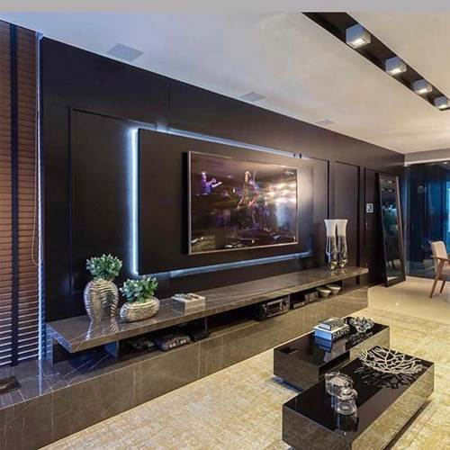 44 Salas de TV Decoradas com Capricho  Decorao de Casa