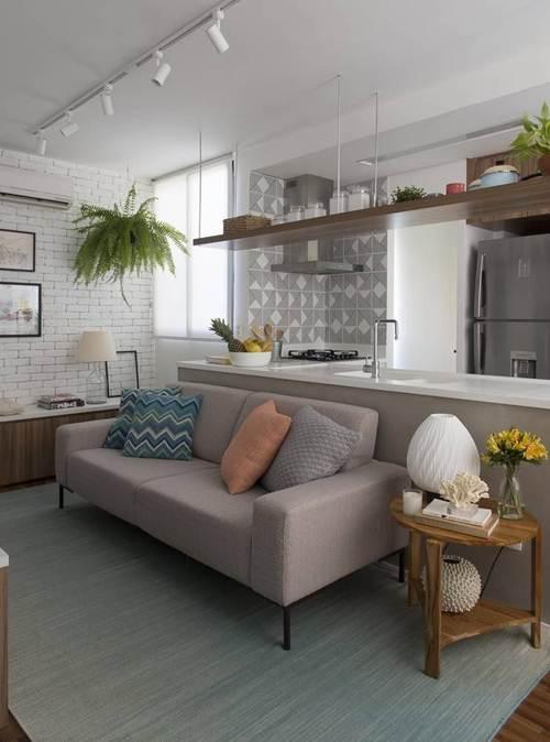 32 Sofs para Sala Pequena com Designs Ideais  Decorao