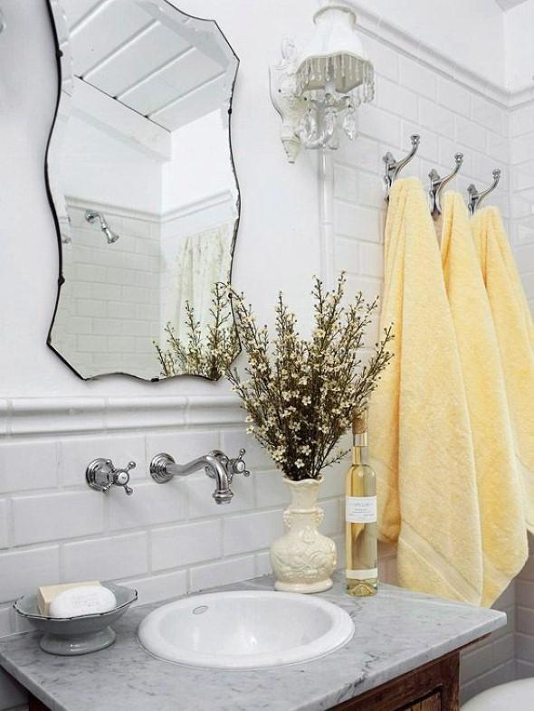 17 ideias para decorar seu banheiro e lavabo com flores ou