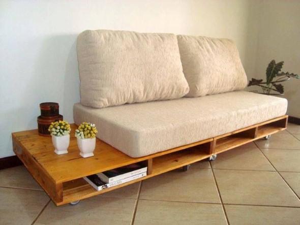 4 etapas para fazer sof com paletes e madeira reciclvel