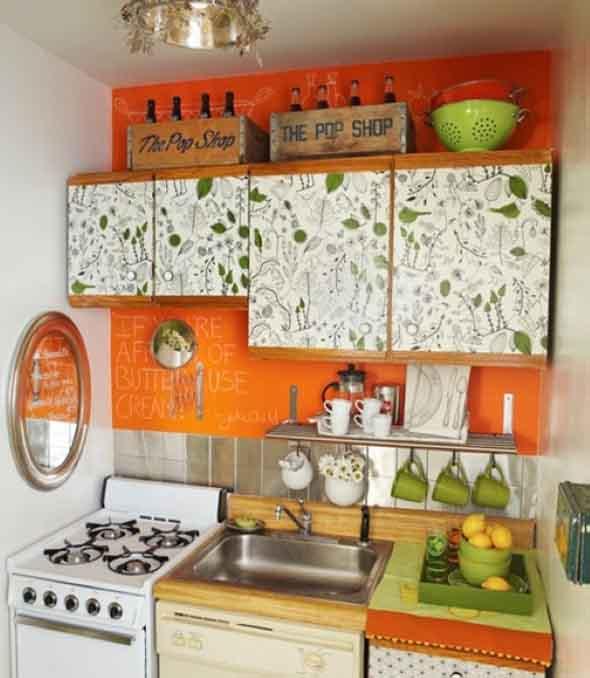 Decorar e renovar a cozinha com papel contact