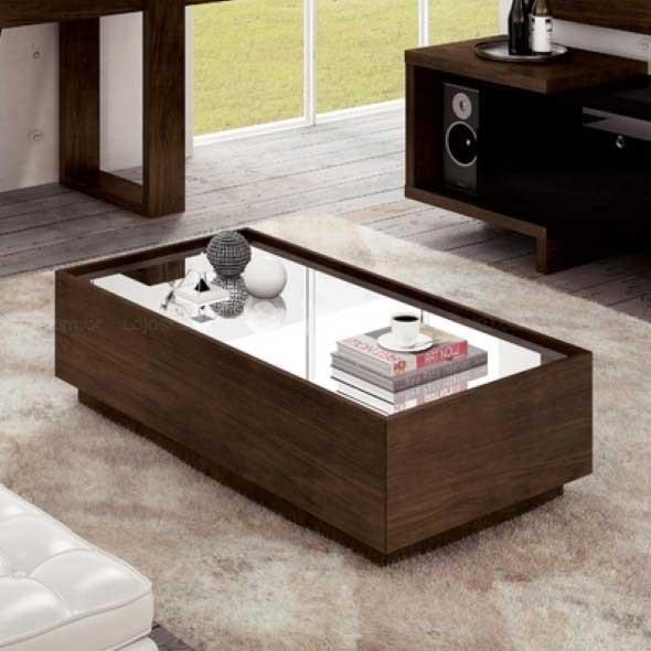 20 modelos de mesa de centro para salas pequenas