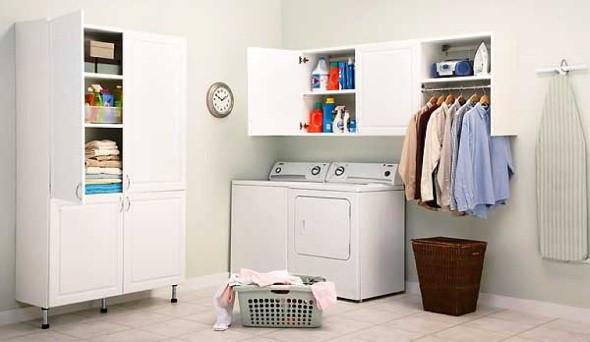 21 ideias para decorar e organizar lavanderia