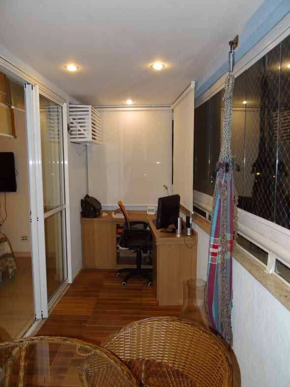 16 ideias para transformar a varanda em um escritrio