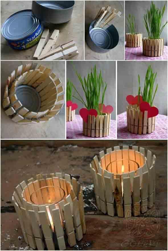 Vasos artesanais decorativos  Aprenda como fazer
