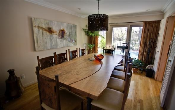 Lindas mesas de madeira rsticas para decorar sua casa
