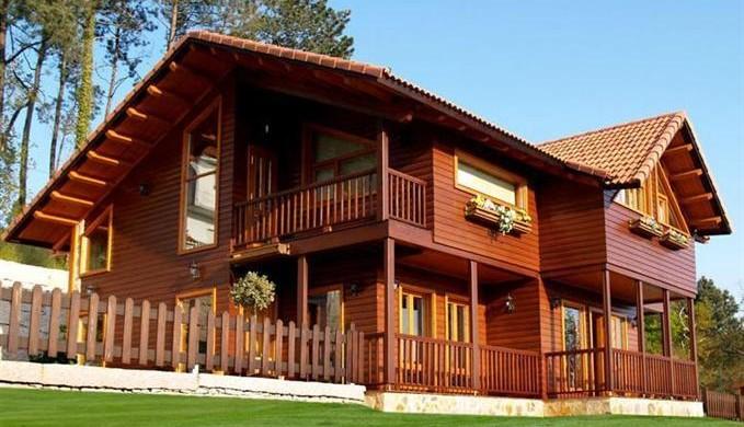 Decorao e Projetos Modelos de casas de madeira com fotos