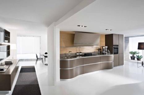 Decorao de cozinha minimalista e funcional