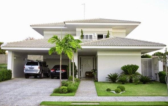 casas com garagem