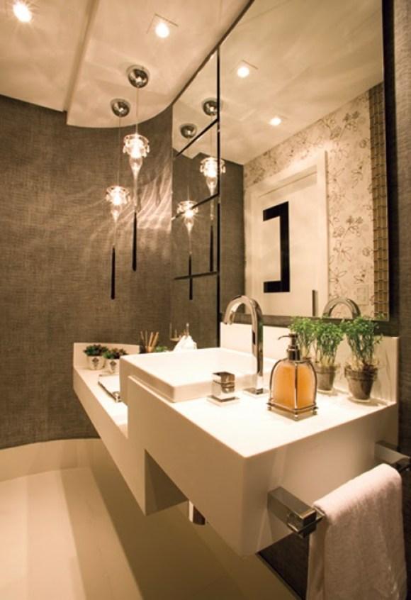 lavabo projeto de iluminação
