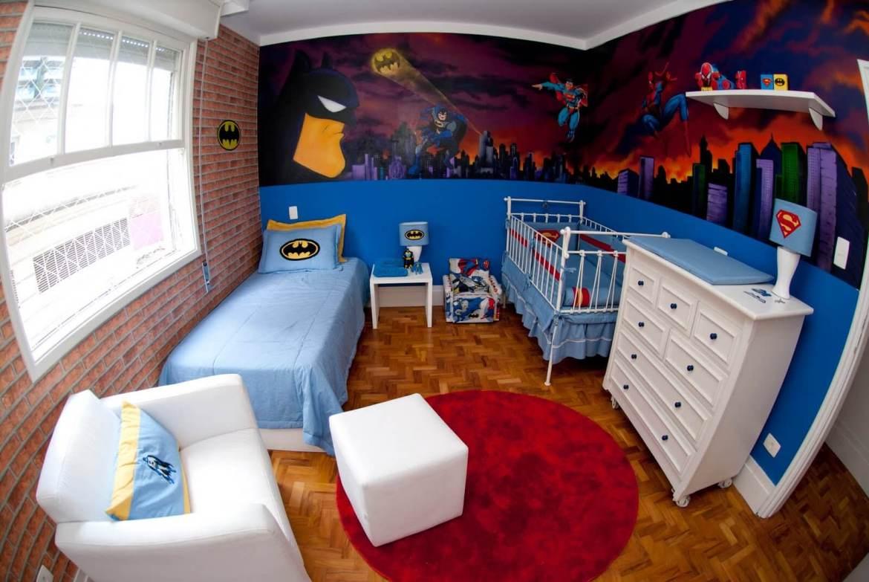 quarto infantil superheroes