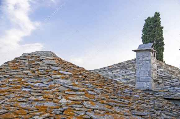 telhado grego
