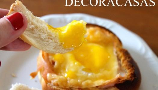 pão com ovo glam
