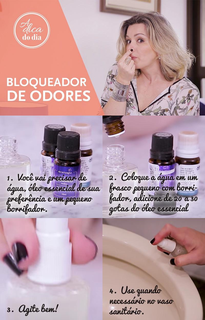 Aprenda a fazer um bloqueador de odor para seu banheiro!