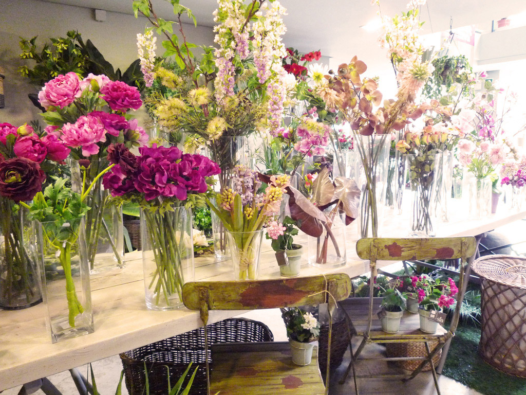 Utilizar las flores artificiales para decorar - Flores artificiales para decorar ...