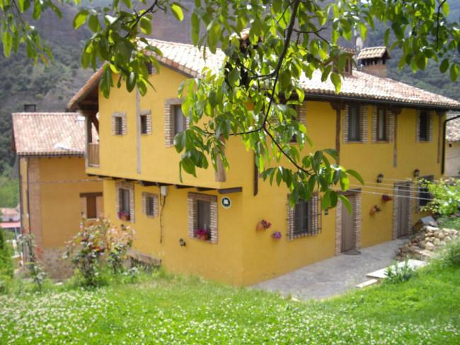 Casa Senderuela por fuera