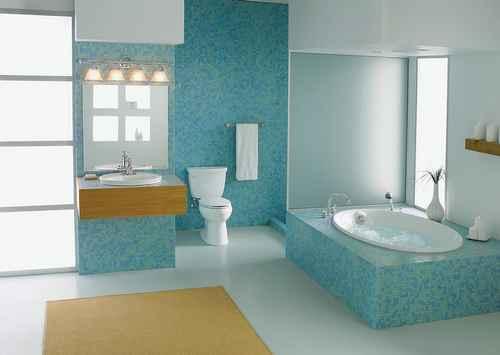 colores ideales para pintar baños
