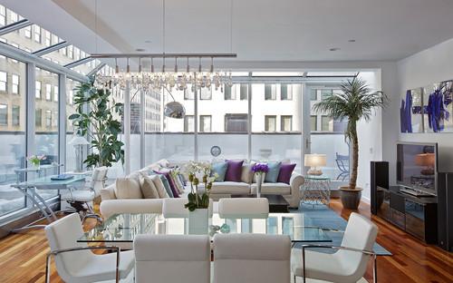 decorar salones con sofas Fama