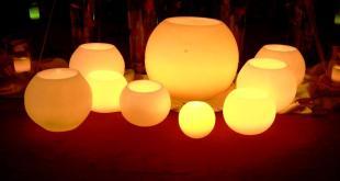 Decora tu salón con las increíbles velas LED