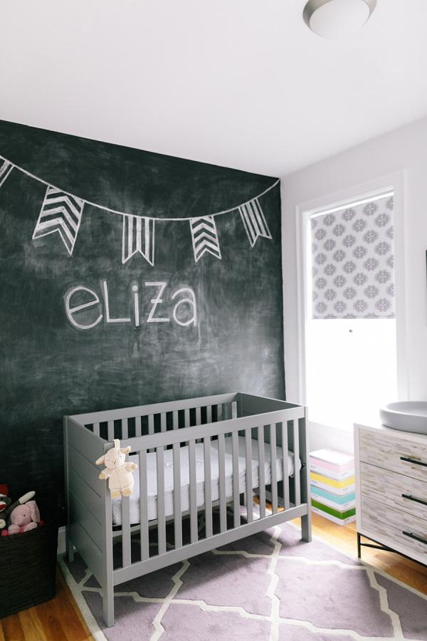 8 Habitaciones de beb con pintura pizarra  DECORACIN BEBS