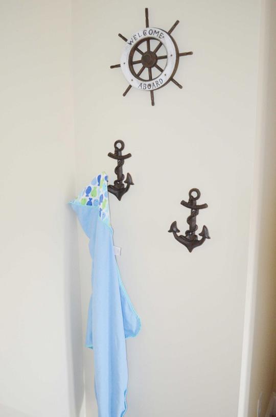 Dormitorio de beb de estilo marinero  DECORACIN BEBS