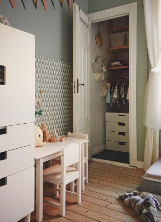 Habitacin beb de Ikea  DECORACIN BEBS