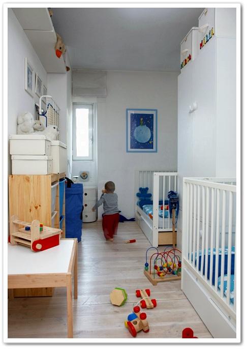 Un dormitorio para dos con muebles de Ikea  DECORACIN BEBS