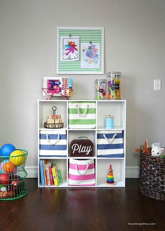 Organizar los juguetes ideas  DECORACIN BEBS