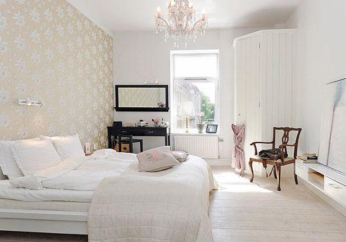 Decoracin dormitorios nrdicos 5  Decoracion de INTERIORES