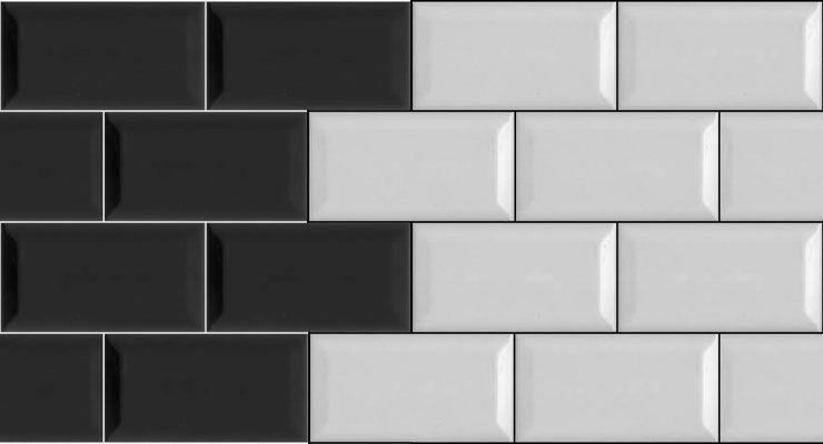 Versatilidad de los azulejos tipo metro  Decoracion de