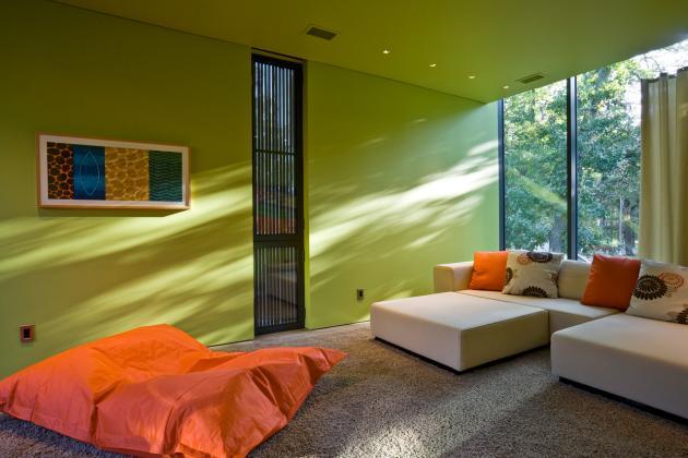 Decoracin de interiores moderna y colorida  Decoracion
