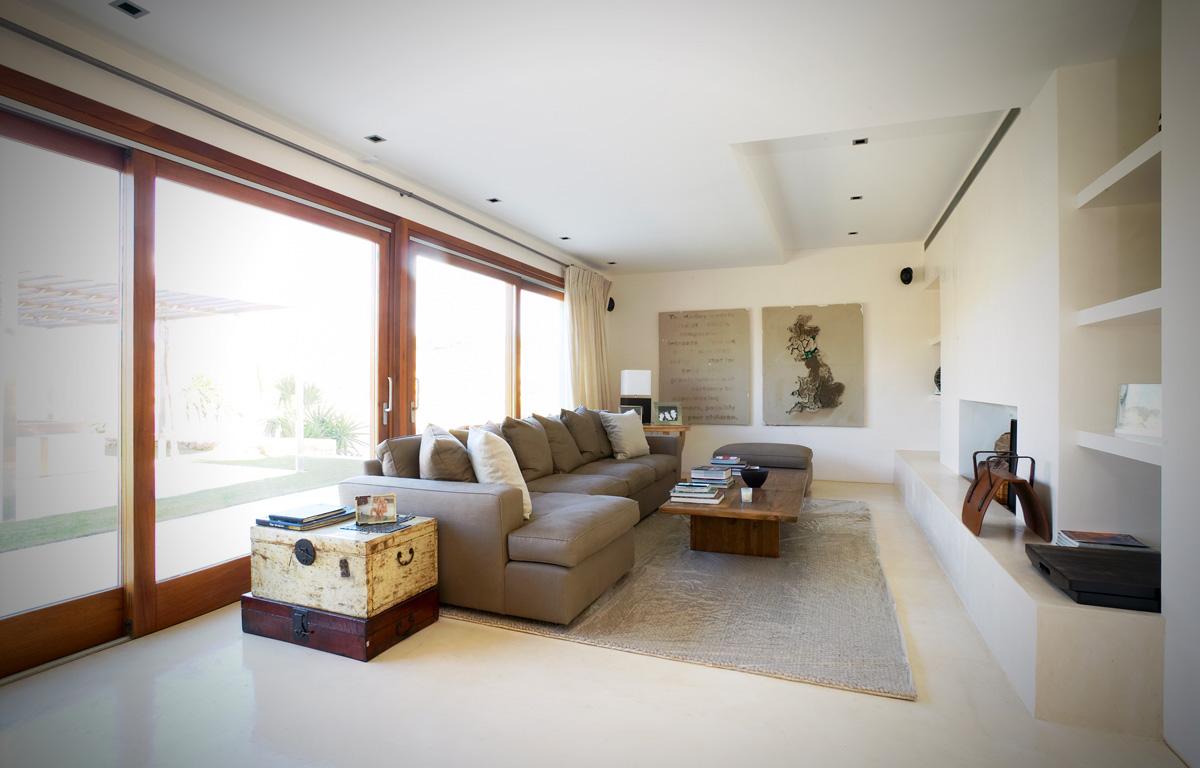 Decoracin de salas clidas y modernas  Decoracion de