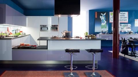 Decoracin de interiores con detalles en azul  Decoracion