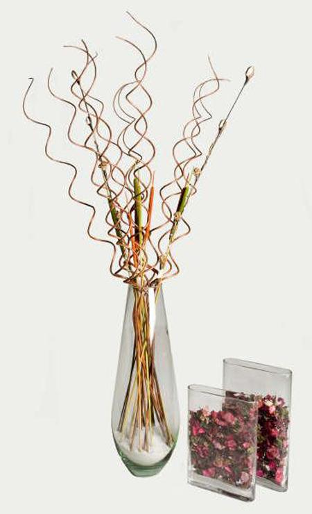 Floreros para decorar la casa  Decoracion de Interiores