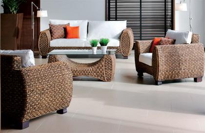 Muebles de rattan para interiores  Decoracion de Interiores