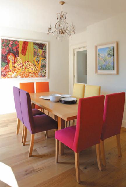 Ideas coloridas para decorar el comedor Parte II