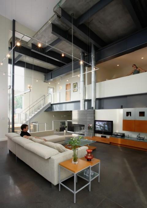 Ambientes integrados en un hermoso diseo de interiores