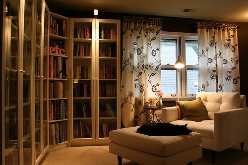 Decoracin de interiores de bibliotecas  Decoracion de