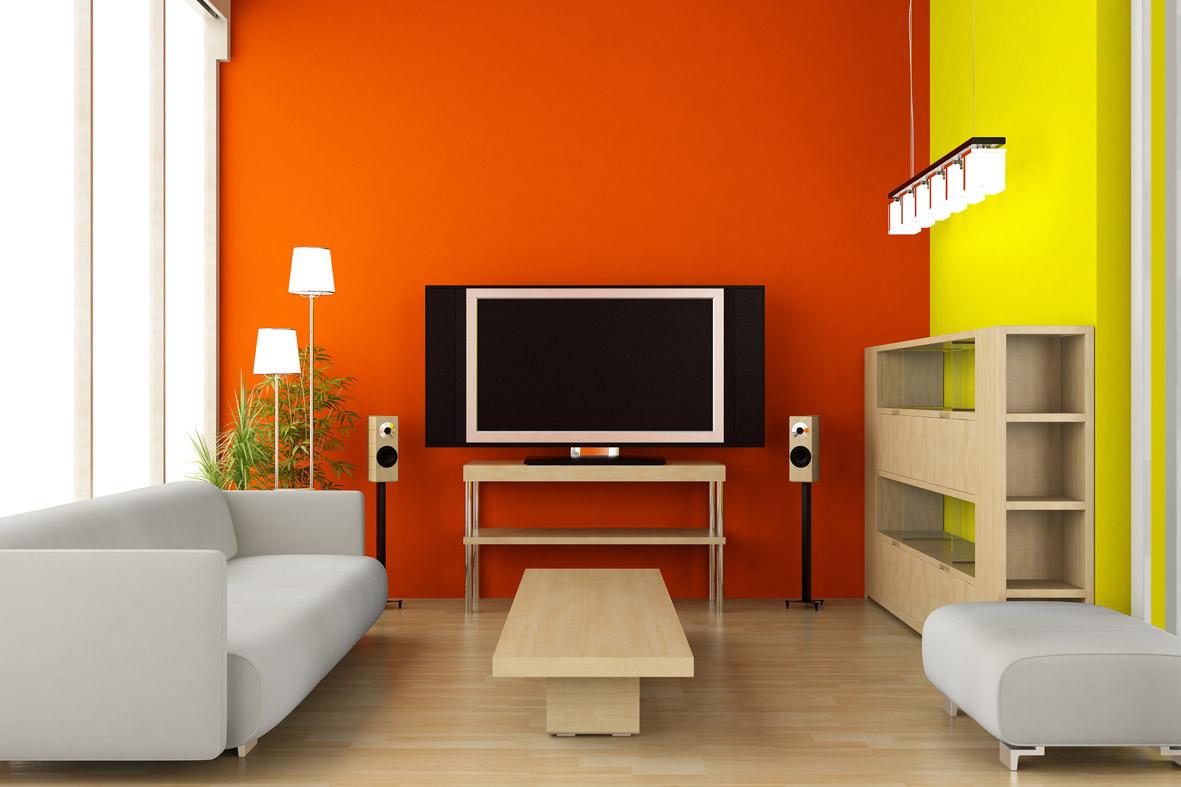 Elegir el color para la sala  Decoracion de Interiores
