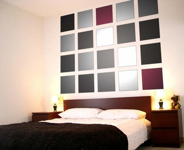 Decoracin de paredes geomtrica y moderna  Decoracion de