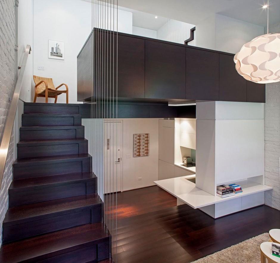 Diseo de interiores funcional de un loft  Decoracion de