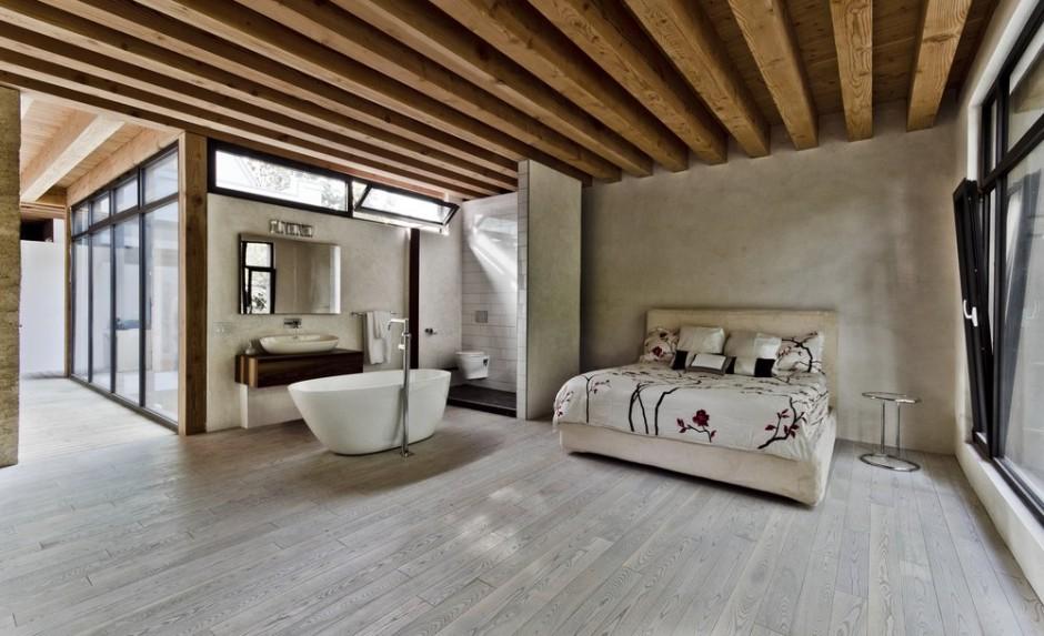 Decoracin de interiores minimalista y rstica